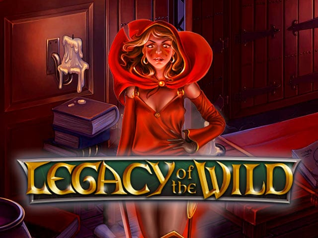 Legacy of the Wild Slot Logo Wizard Slots