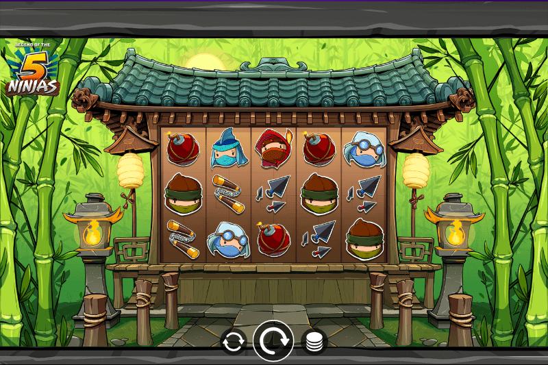 Legend Of The 5 Ninjas Gameplay