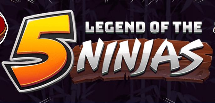 Legend Of The 5 Ninjas Logo