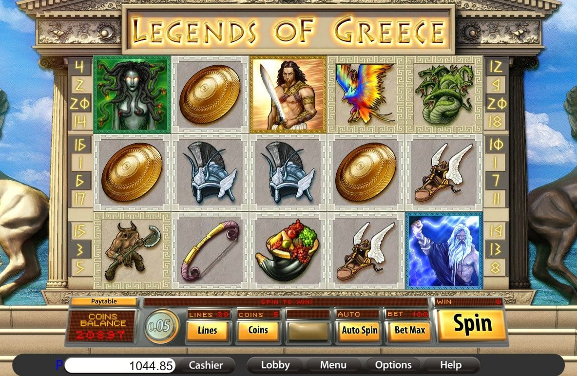 legends of greece gameplay