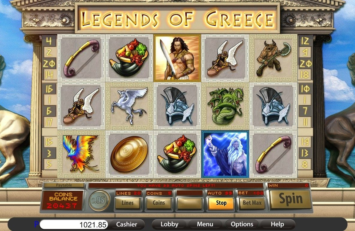 legends of greece gameplay 2