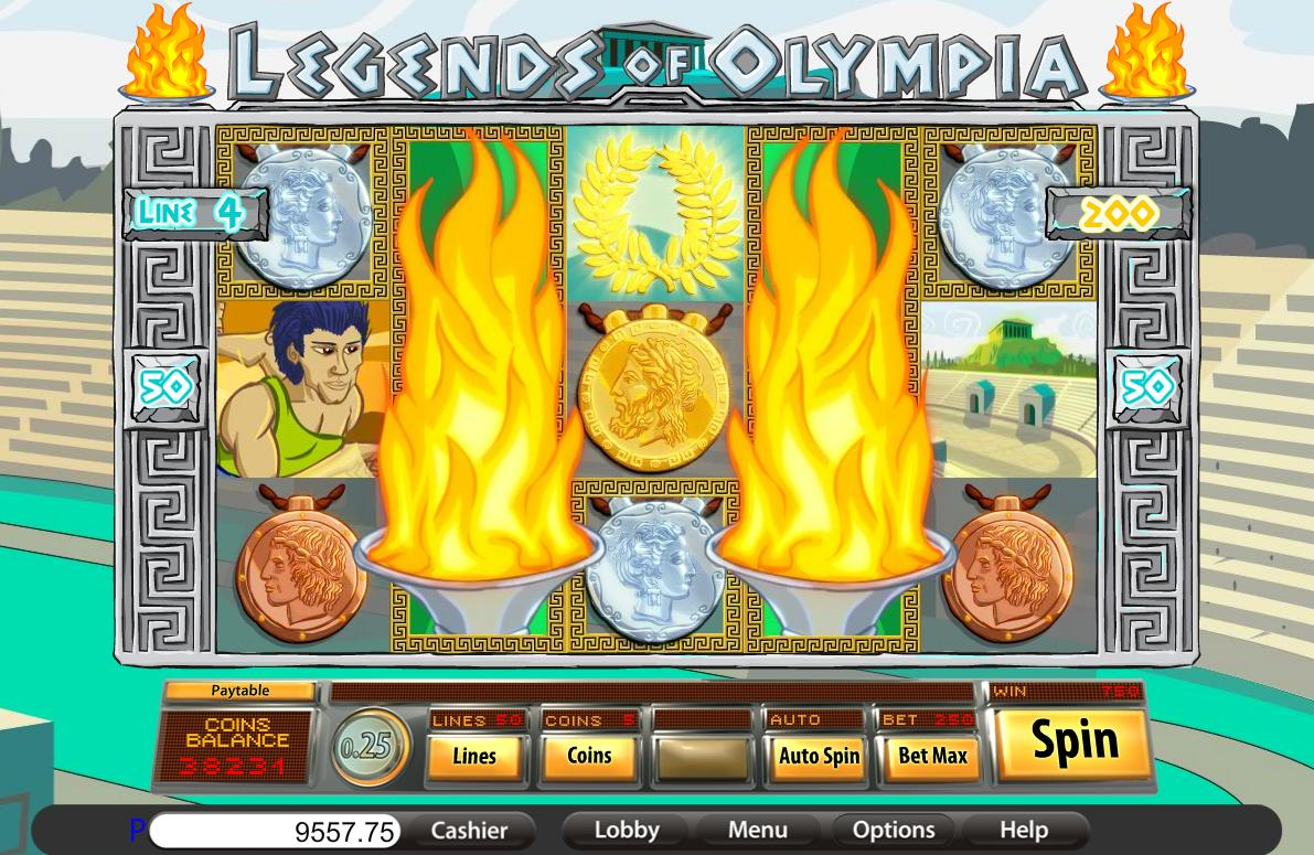 legends of olympia gameplay