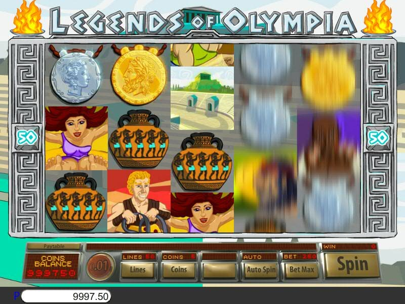 legends of olympia gameplay 2