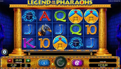 legend of the pharaohs Slot Wizard Slots