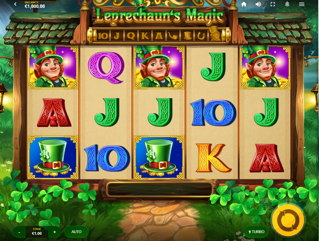 Leprechaun's Magic Slots Games