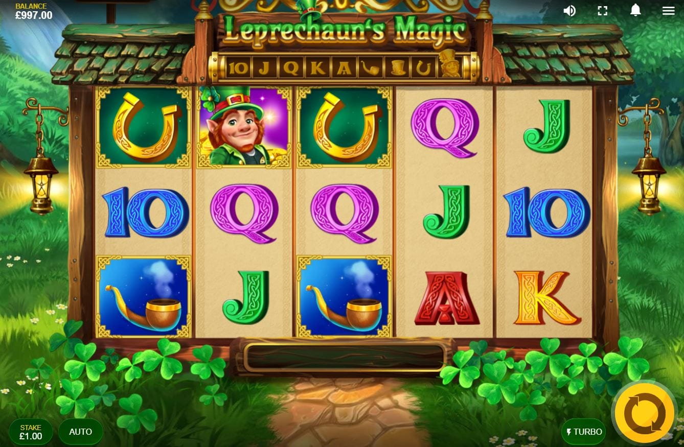 Leprechaun's Magic Slots Online
