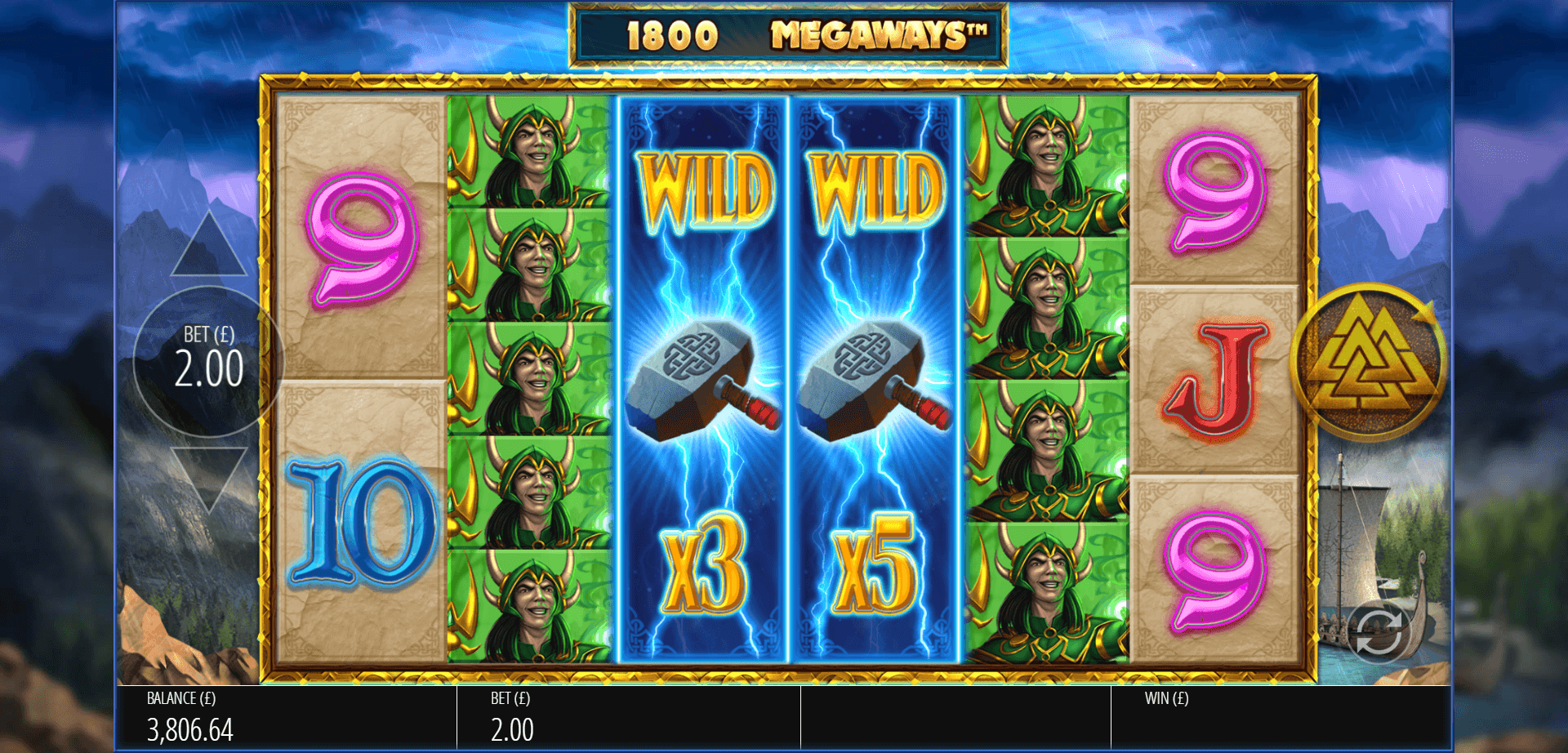 Lightning Strike Megaways Slot Game