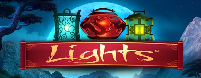 Lights online slots game logo