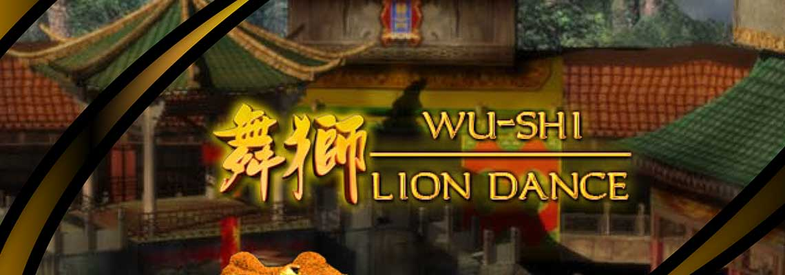 Lion Dance online slots game logo