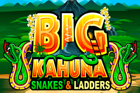 Big Kahuna Snakes & Ladders slot game logo