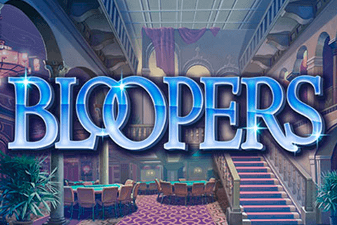 Bloopers slots game logo