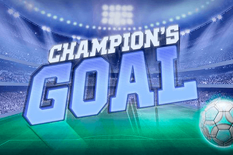 Champion's Goal online slots game logo