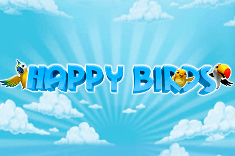 Happy Birds online slots game logo