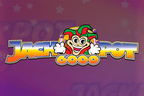 Jackpot 6000 online slots game logo