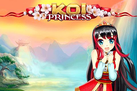 Koi Princess online slots game logo