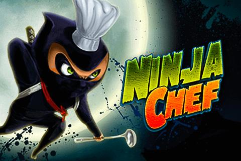 Ninja Chef online slots game logo