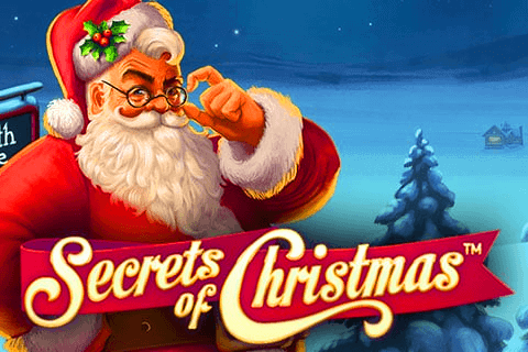 Secrets of Christmas online slots game logo