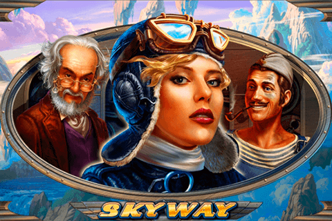 Skyway online slots game logo