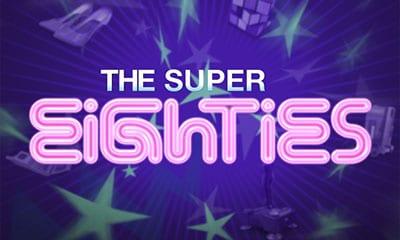 Retor Super 80s online slots game logo