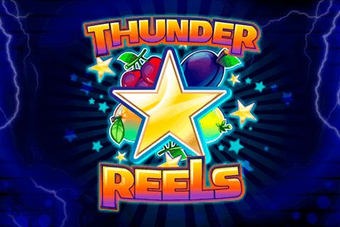 Thunder Reels online slots game logo