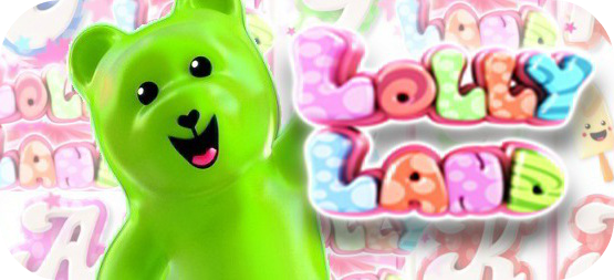 Lolly Land online slots game logo