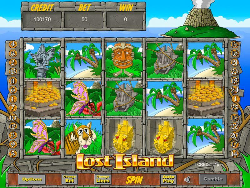 Lost Island Slots gameplay