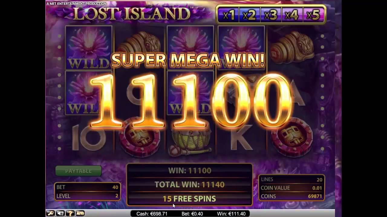 Lost Island Mega Win