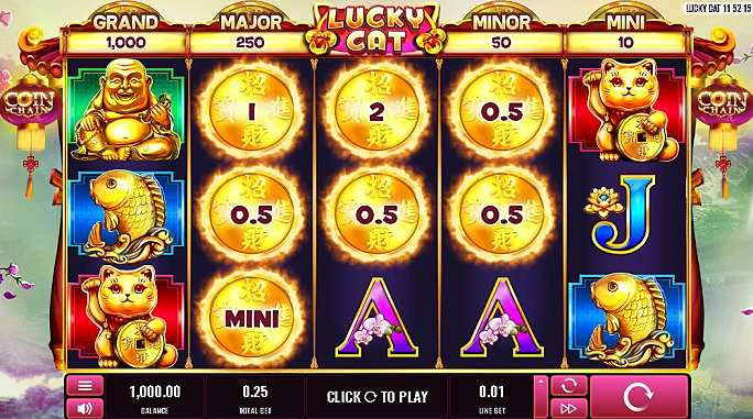 Lucky Cat Slot Wizard Slots Game
