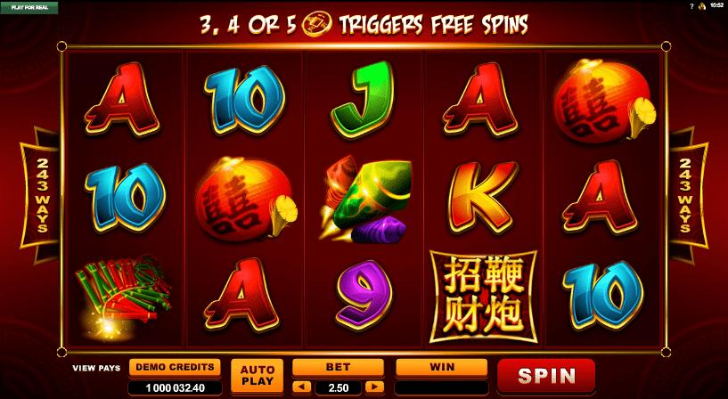 Lucky Firecracker Slots
