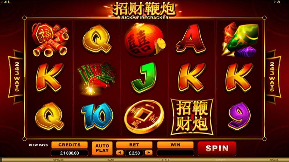 Lucky Firecracker Slot Game