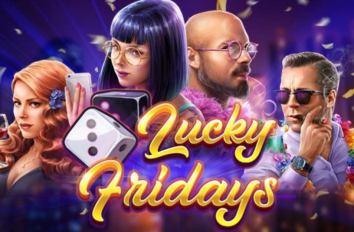Lucky Fridays Slot Logo Wizard Slots