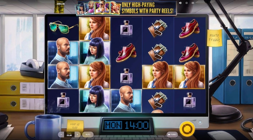 Lucky Fridays Slots Gameplay