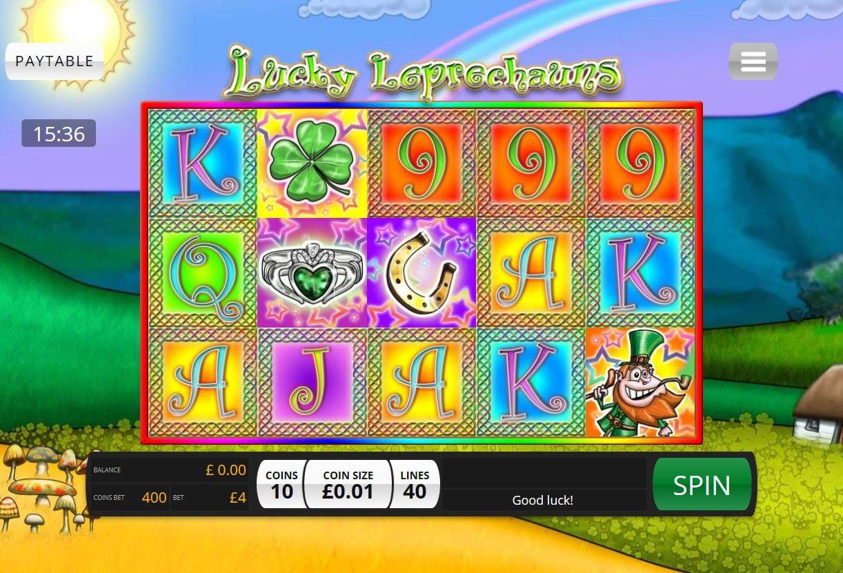 lucky leprechauns gameplay