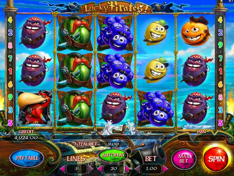 Lucky Pirates Slots Game