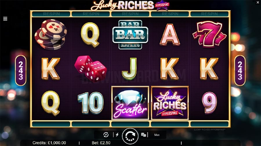 Lucky Riches Hyperspins Free Slots