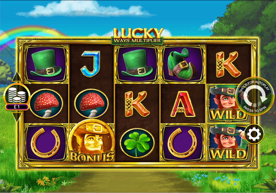 Lucky Ways Multiplier Slot Game
