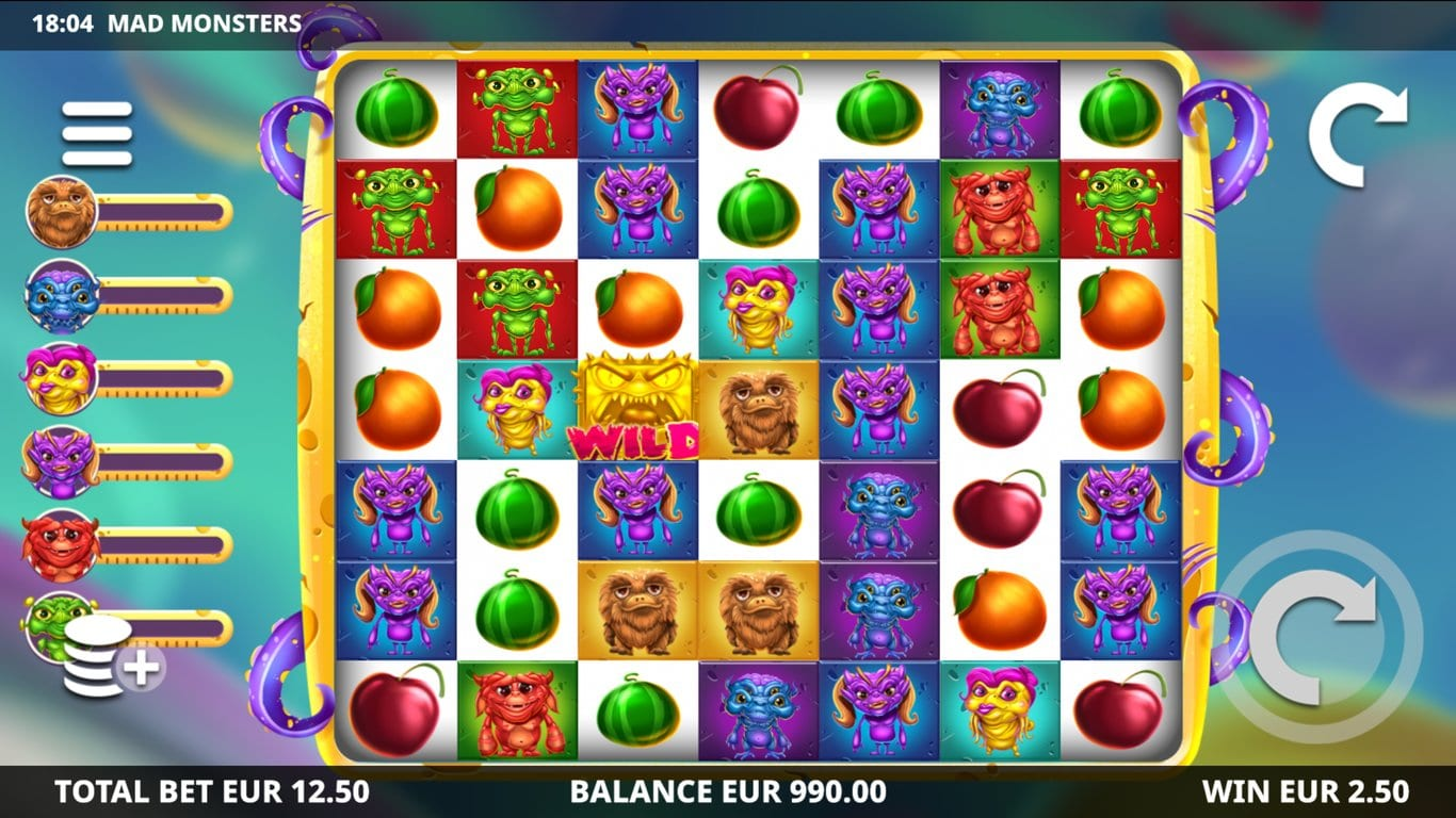 Mad Monsters Free Slots