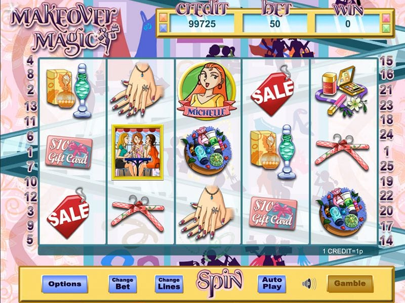 Make Over Magic slots gameplay