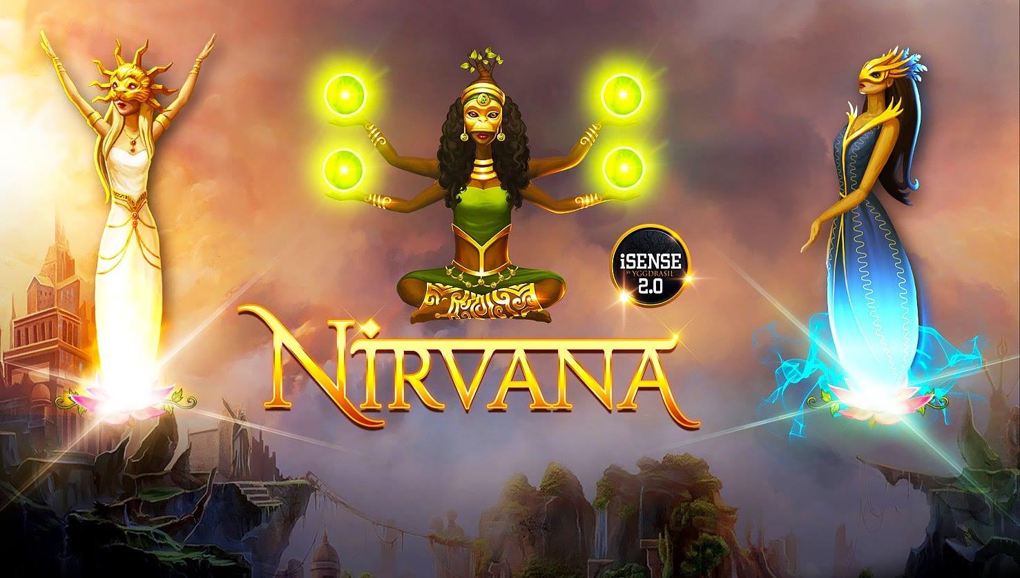 Nirvana online slots game logo