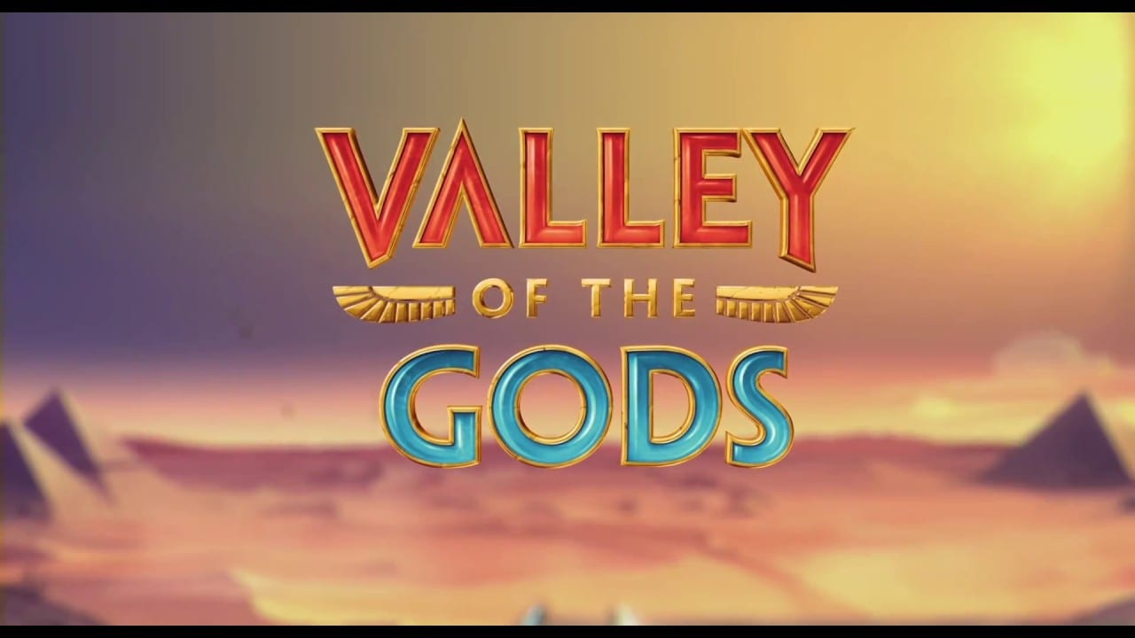 Valley of the Gods online slots game logo