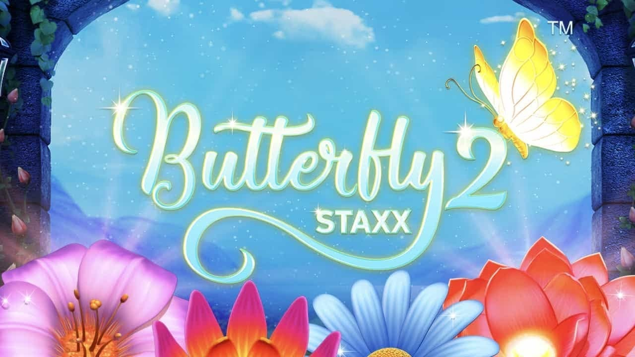 Butterfly Staxx 2 Logo Slot