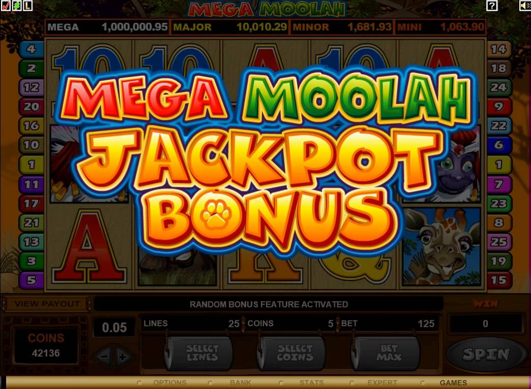 Jackpot gameplay