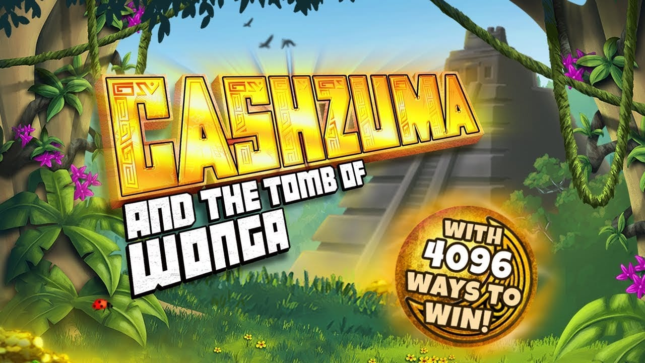 Cashzuma And The Tomb Of Wonga Logo Slot