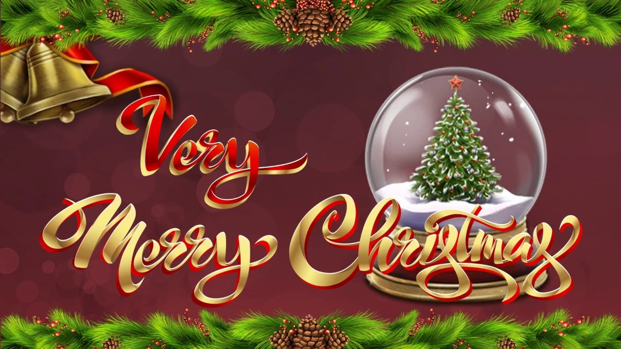 Very Merry Christmas online slots game logo