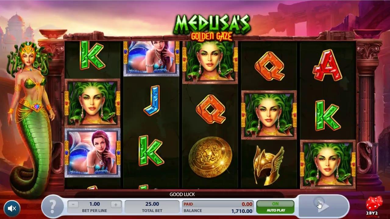 Medusa Golden Gaze casino gameplay