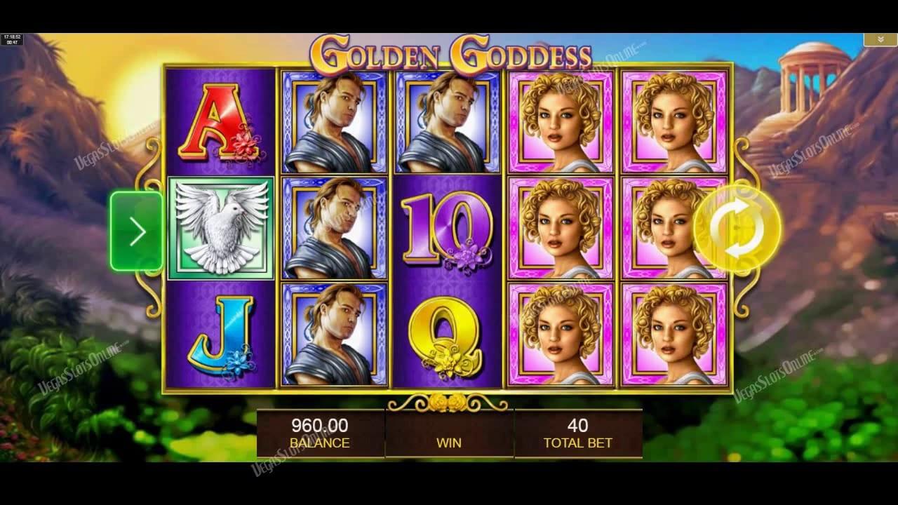 Platinum Goddess gameplay casino