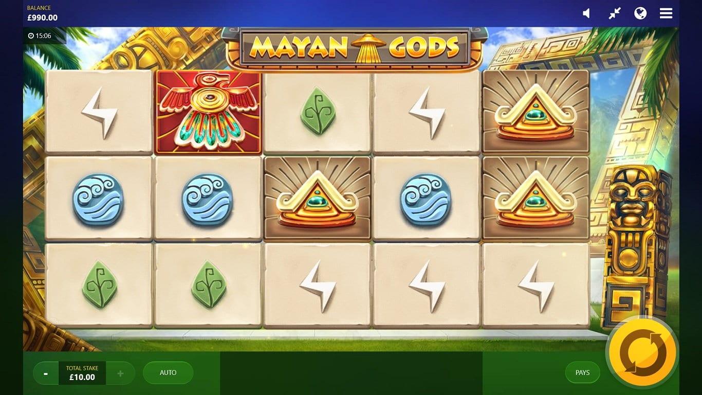 Mayan Gods Wizard Slots