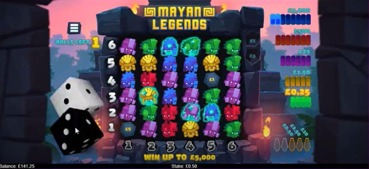 Mayan Legend Slots Game
