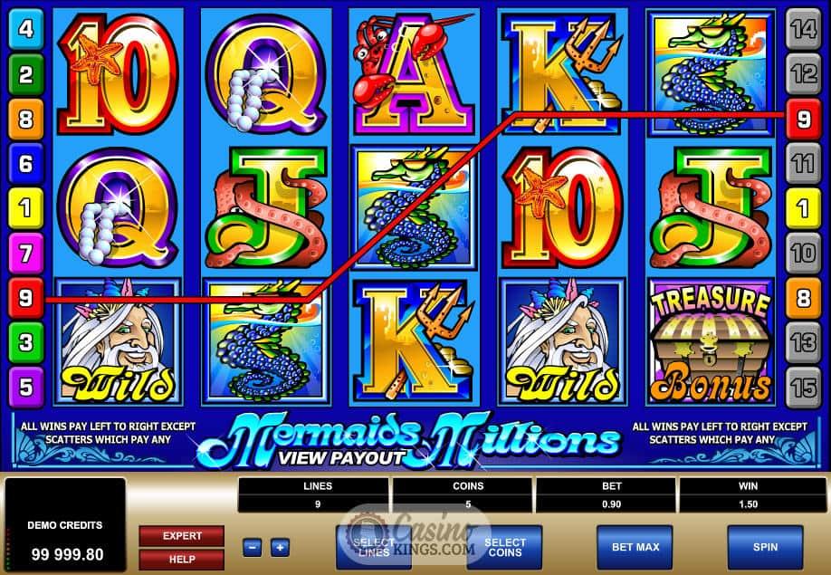 Mermaid online slots Game