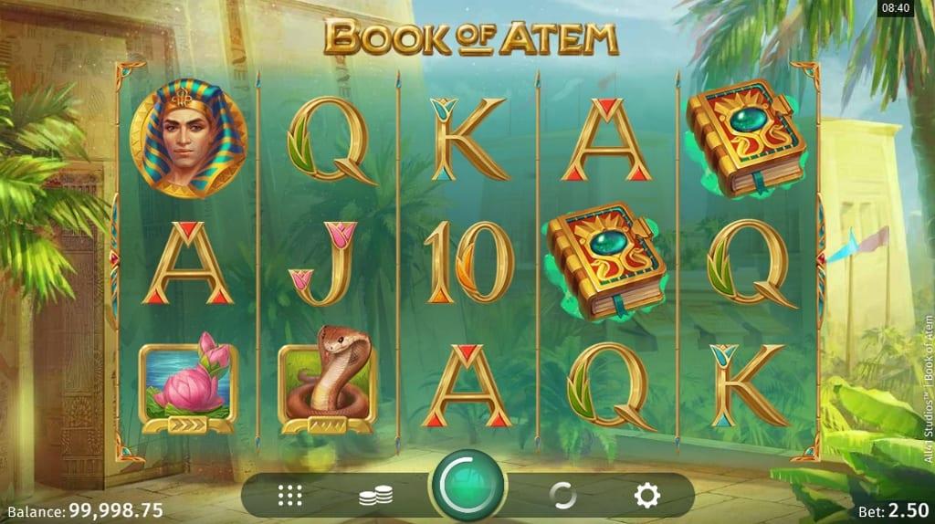 Book of Atem Casino Game Play